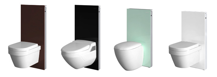 geberit monolith glass options